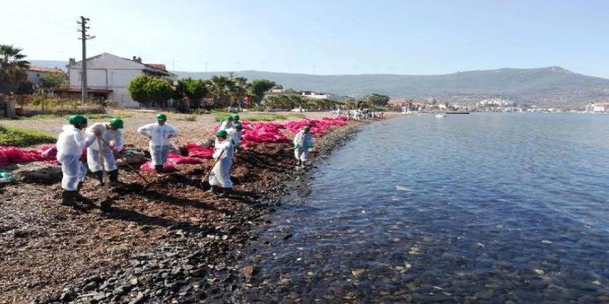 Foça'da denizi kirleten firmaya 144 bin lira ceza