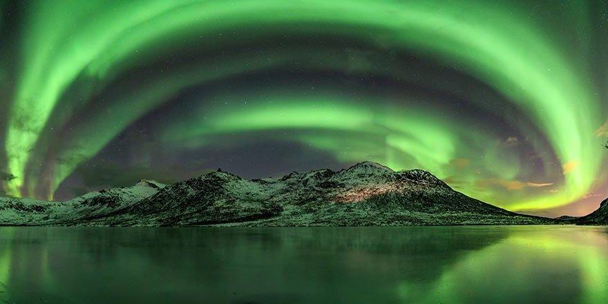 Dünyanın hayran kaldığı 'Kuzey Işıkları'