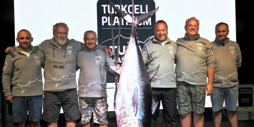 """Tuna Masters of the Year"" kemeri verildi"