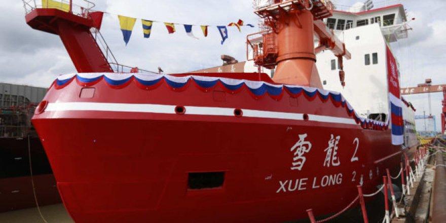 Çin'in ilk milli buzkıranı seferlerine başladı