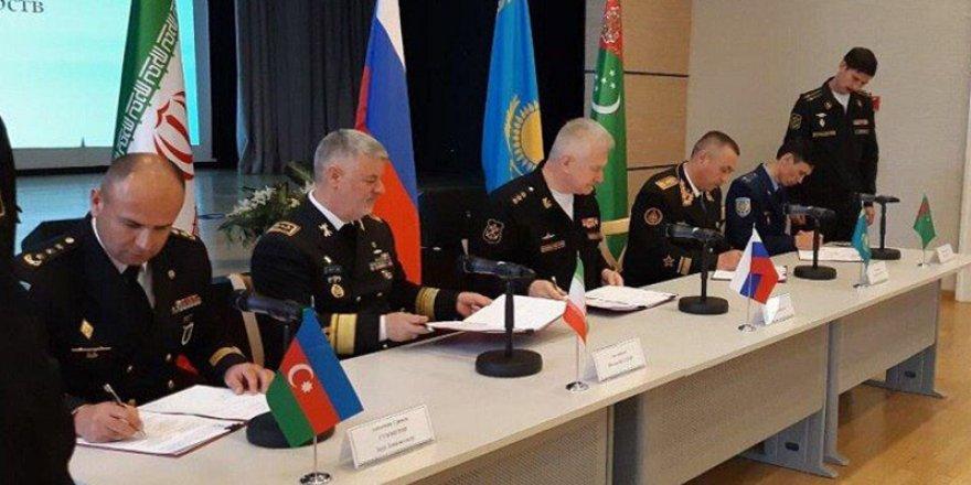 Hazar ülkeleri, askeri işbirliği anlaşması imzaladı