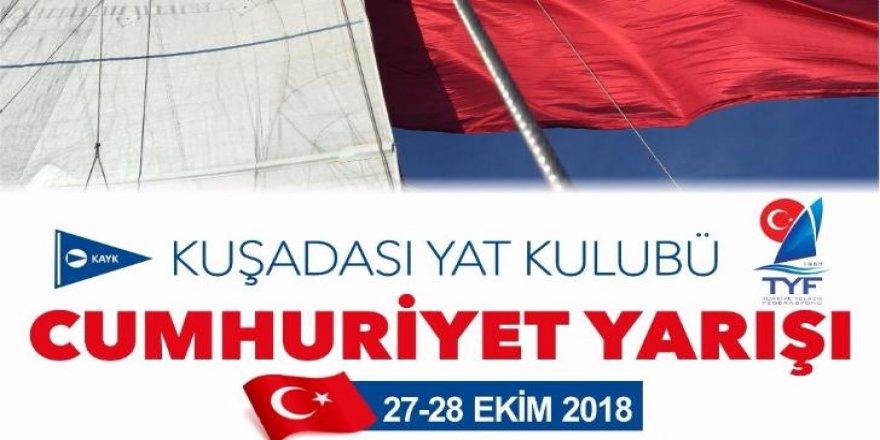 Cumhuriyet Kupası için yelken açacaklar