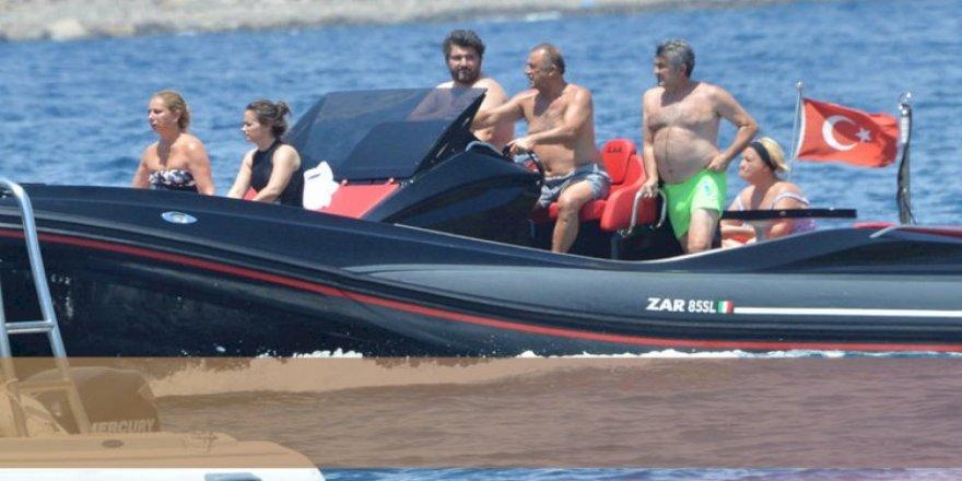 Fatih Terim'in teknesi çalındı