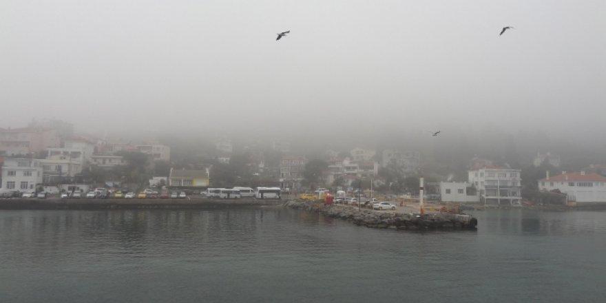 İstanbul ve Çanakkale'de yoğun sis