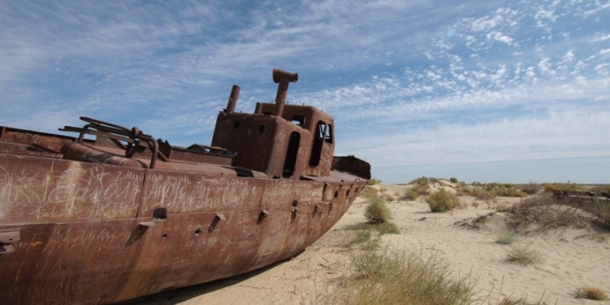 Aral Gölü hayat buluyor: Tuzluluk oranı düşüyor