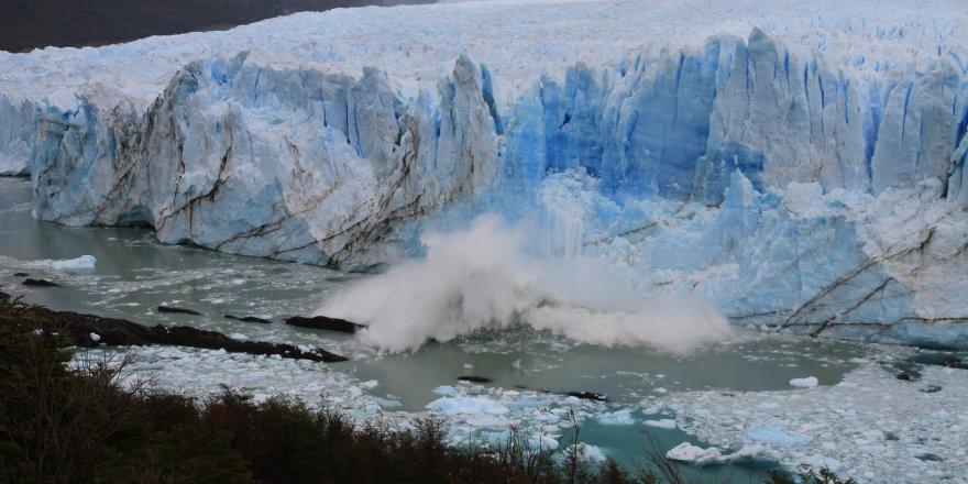 Buzul nehirleri, daha fazla karbondioksit emiyor