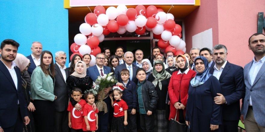 Halit Ayar Kızılay Anaokulu açıldı