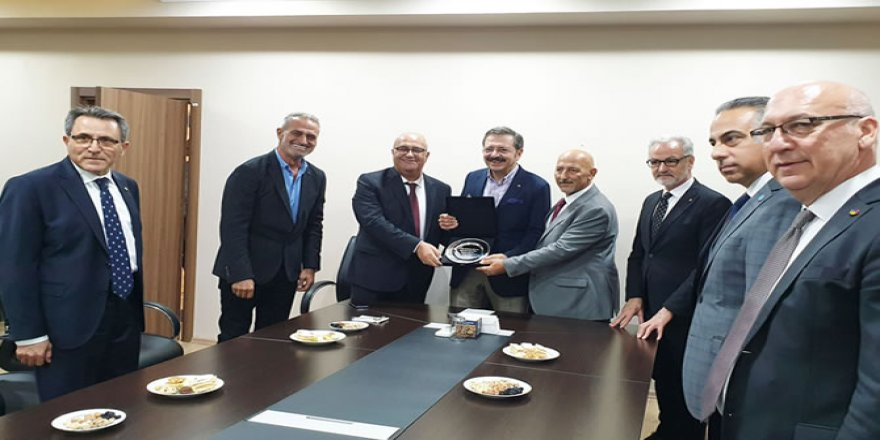 DTO İskenderun Şubesi Hisarcıklıoğlu'nu ağırladı
