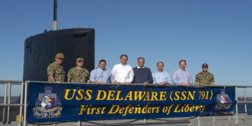 USS Delaware ABD Donanması'na teslim edildi