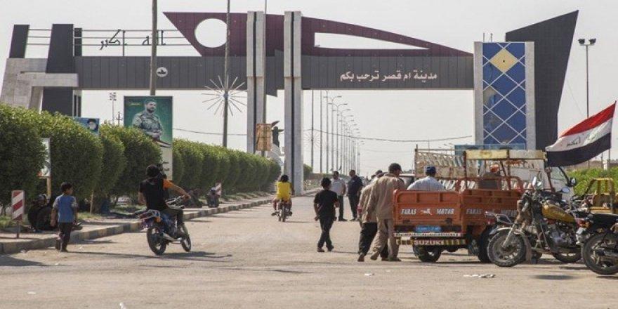 Irak'ın can damarı liman yeniden faaliyette