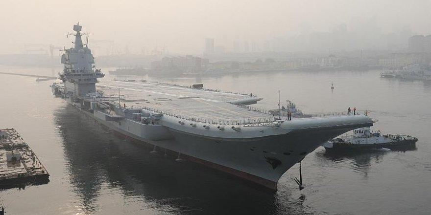 Çin, uçak gemisiyle Tayvan'a 'gözdağı' mı veriyor?