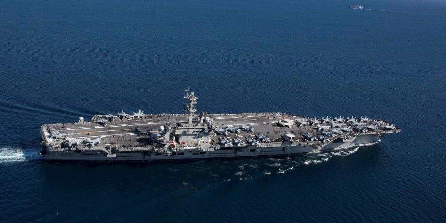 ABD uçak gemisi Hürmüz Boğazı'nda