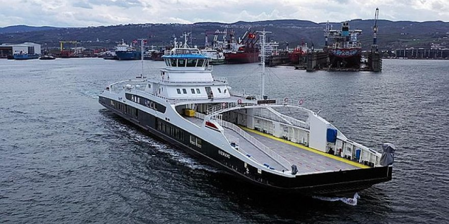 Tersan, Eresfjord'u Norveç'e teslim etti