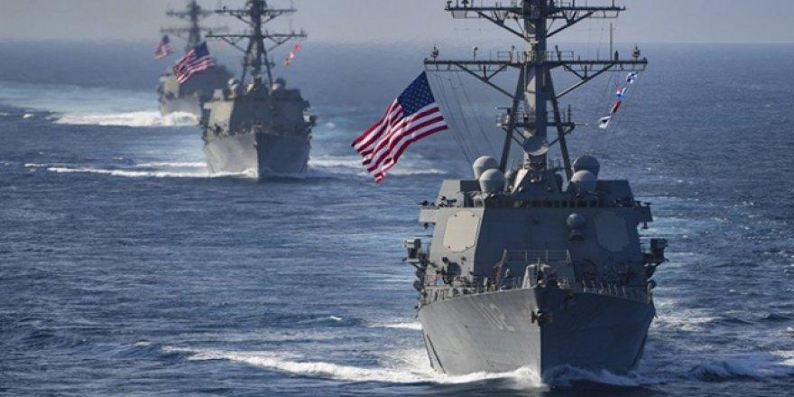 ABD Umman Denizi'nde bir gemideki silahlara el koydu