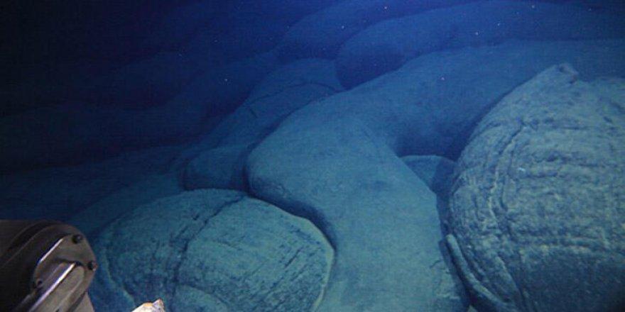 Pasifik Okyanusu'nda genç bir volkan bulundu