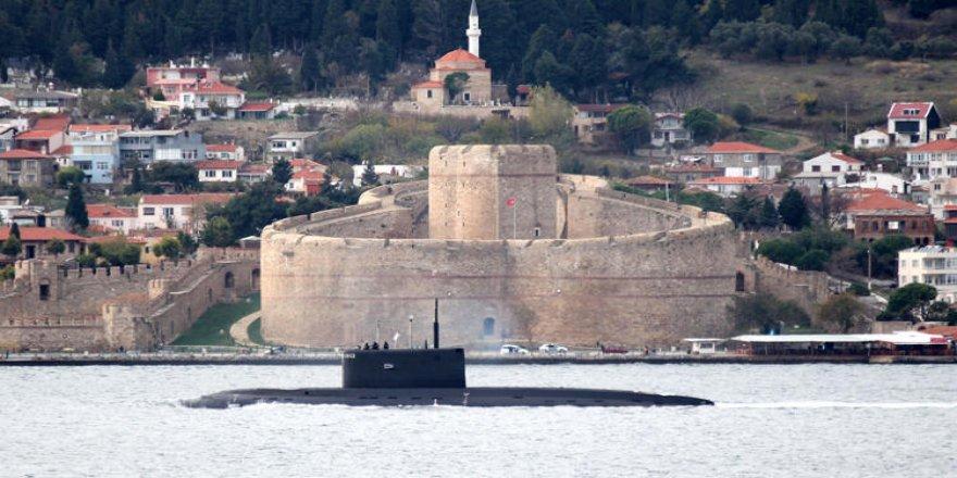 Rus denizaltısı 'Novorossiysk, Akdeniz'e iniyor