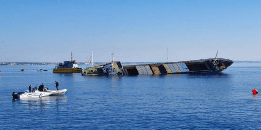 Elpida GKRY kıyılarında batırıldı