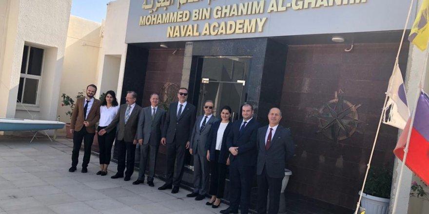 Kıran ve Prof. Dr. Erdoğan Katar Al-Ghanim Naval Academy'de