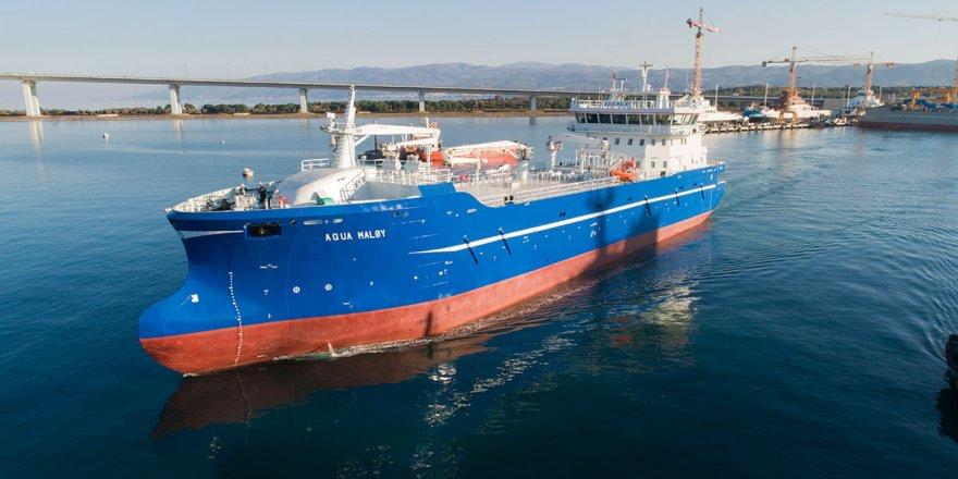 Sefine Tersanesi Aqua Maløy'u da teslim etti