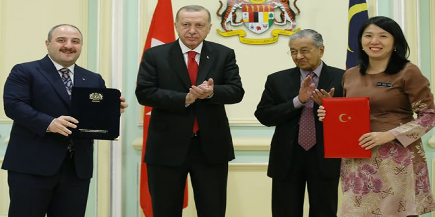 Savunma alanında Malezya ile 15 yeni anlaşma