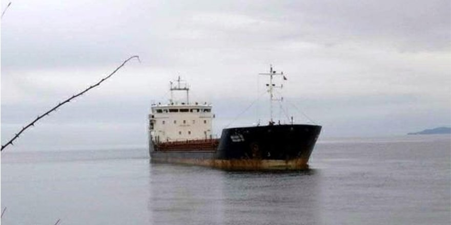 Şarköy'de yük gemisi karaya oturdu