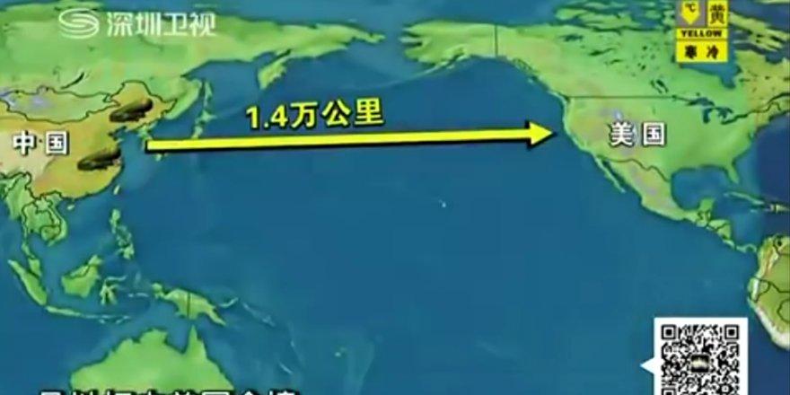 Çin'den ABD'yi korkutan test