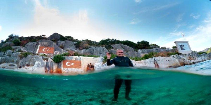 Antalya'da bu yıl 300 bin kişi dalış yaptı