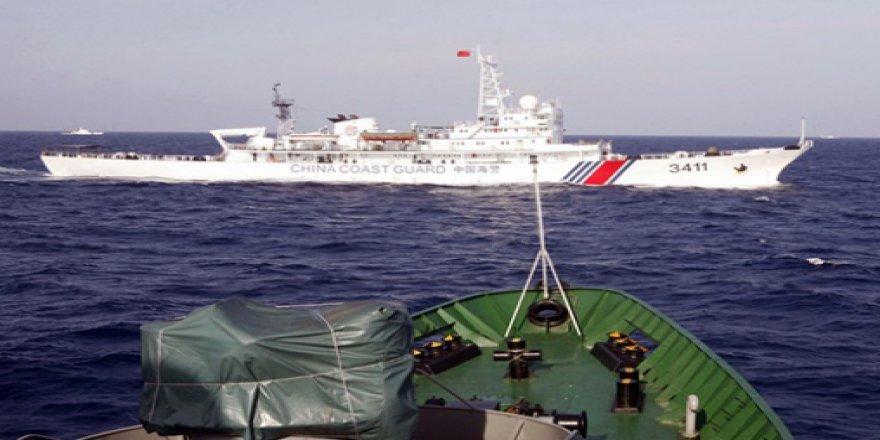 Çin, Japon karasularını ihlal etti