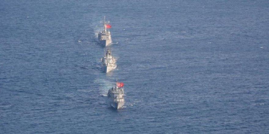 Ortak deniz eğitimi tamamlandı