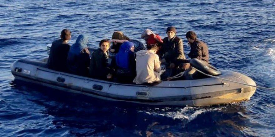 Didim'de  göçmenler yakalandı