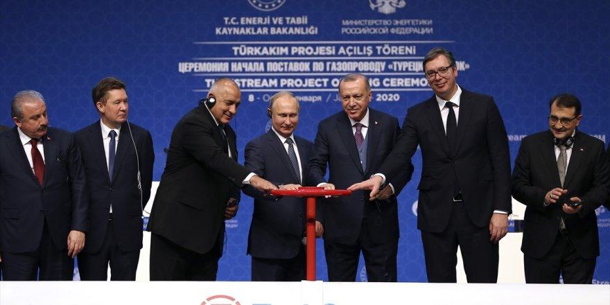 TürkAkım doğal gaz boru hattı açıldı