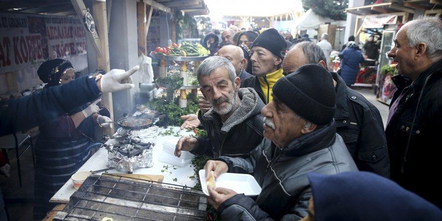 Ankaralılara hamsi dağıtıldı