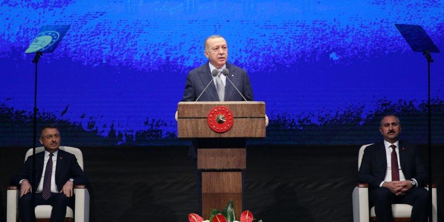 Erdoğan: Kanal İstanbul bir anda çıkmış bir proje değil