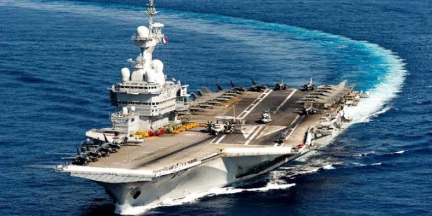 Fransa uçak gemisi gönderiyor