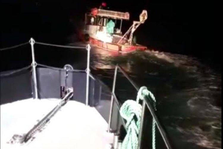 Balıkçılardan aksiyon filmlerini aratmayacak bir kovalamaca