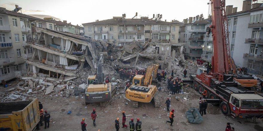 Depremle ilgili son durum