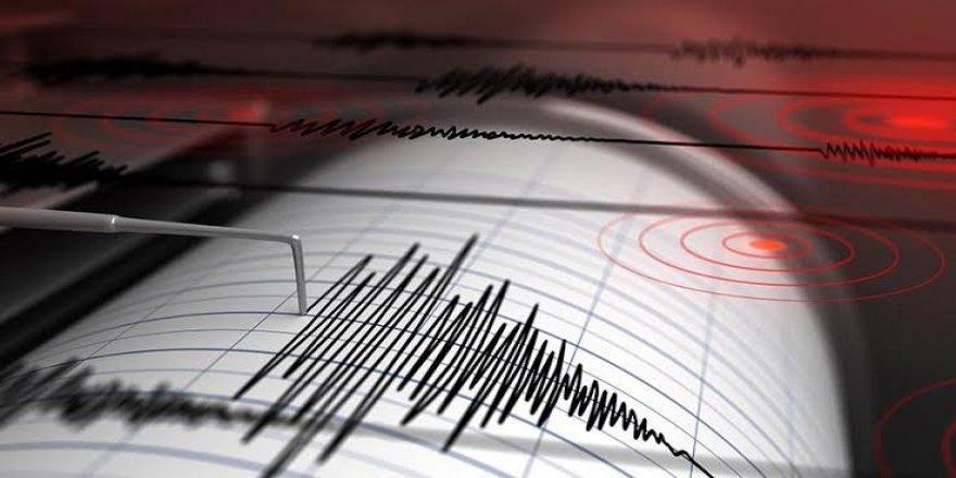 Akdeniz'de iki deprem oldu