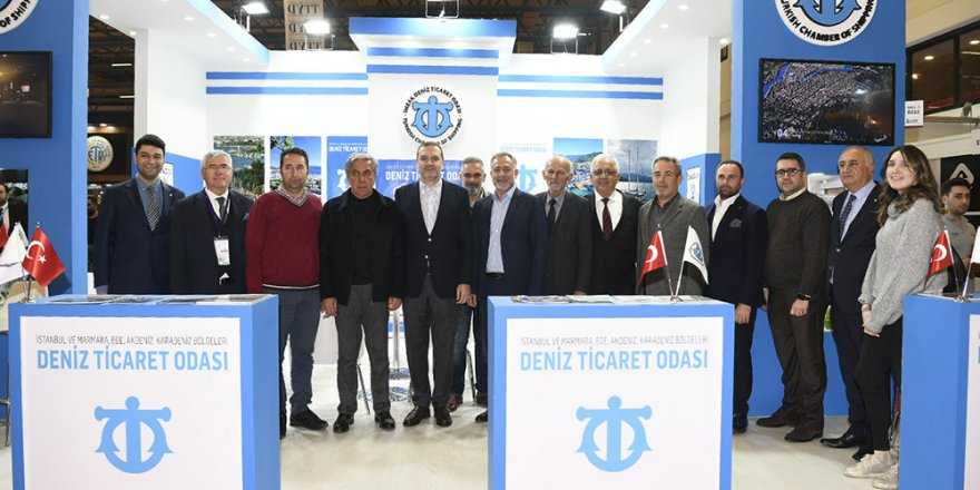 İMEAK Deniz Ticaret Odası, İstanbul TUYAP Fuar'ına ziyaret