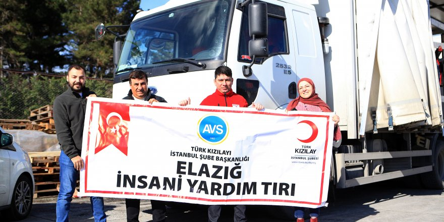 AVS'den Elazığ depremi mağdurlarına destek