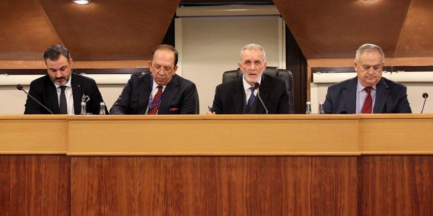 İmeak Deniz Ticaret Odası şubat ayı meclis toplantısı yapıldı