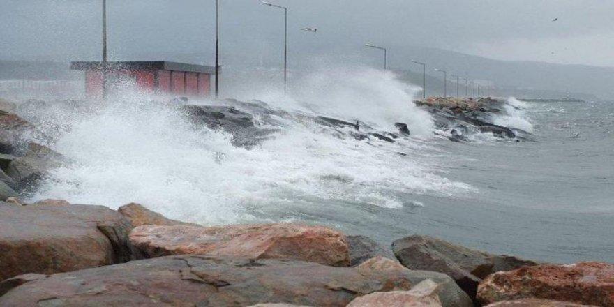 Doğu Akdeniz'de fırtına