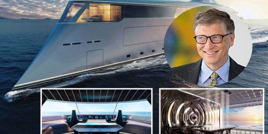 Bill Gates, hidrojenle çalışan ilk süper yatını alıyor