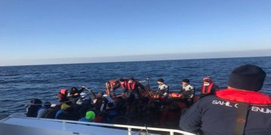 Bir hafta içinde 480 göçmen yakalandı