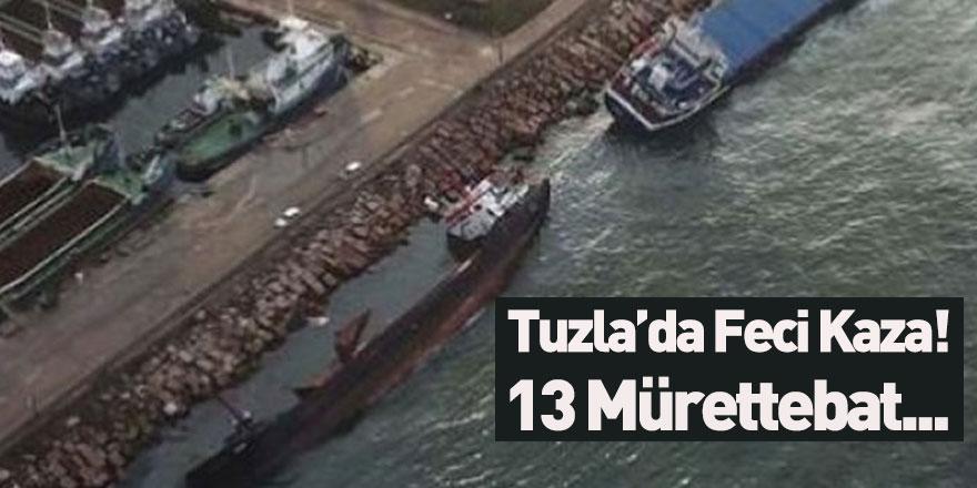 Tuzla'da Korku Dolu Anlar Yaşandı