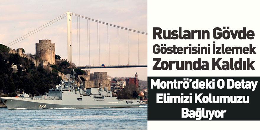 Rus Gemileri Akdeniz'e İnecek