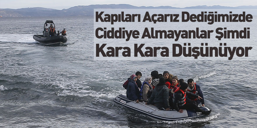Mülteciler Adalara Ulaştı