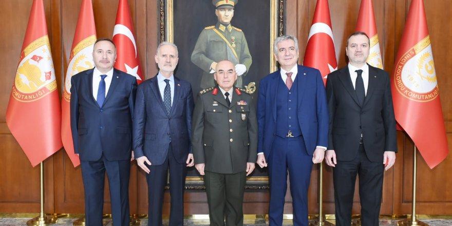 İMEAK Deniz Ticaret Odası Yönetim Kurulu Başkanı Tamer Kıran'dan Ziyaret