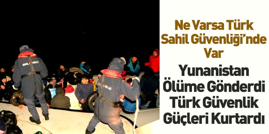 Türk Sahil Güvenlik Güçleri 40 Mülteciyi Kurtardı