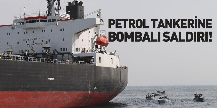 Petrol Tankerine Bombalı Saldırı