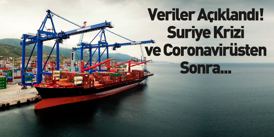 Suriye Krizi ve Coronavirüs Batı Akdeniz İhracatını Etkilemedi